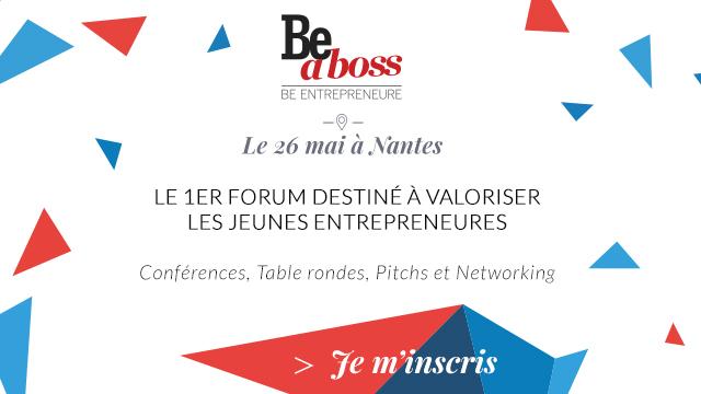 (Agenda) RDV avec Digitaly et 1kubator au forum Be a Boss Nantes