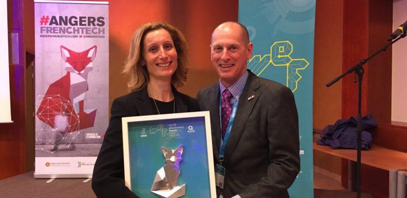 Award 2017 pour Digitaly primée au #WEF d'Angers