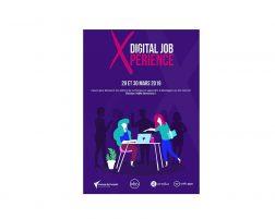 Digitaly partenaire de Digital Job Xpérience, programme qui incite les femmes à découvrir le numérique