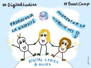 Un boostcamp pour développer la mixité dans le numérique